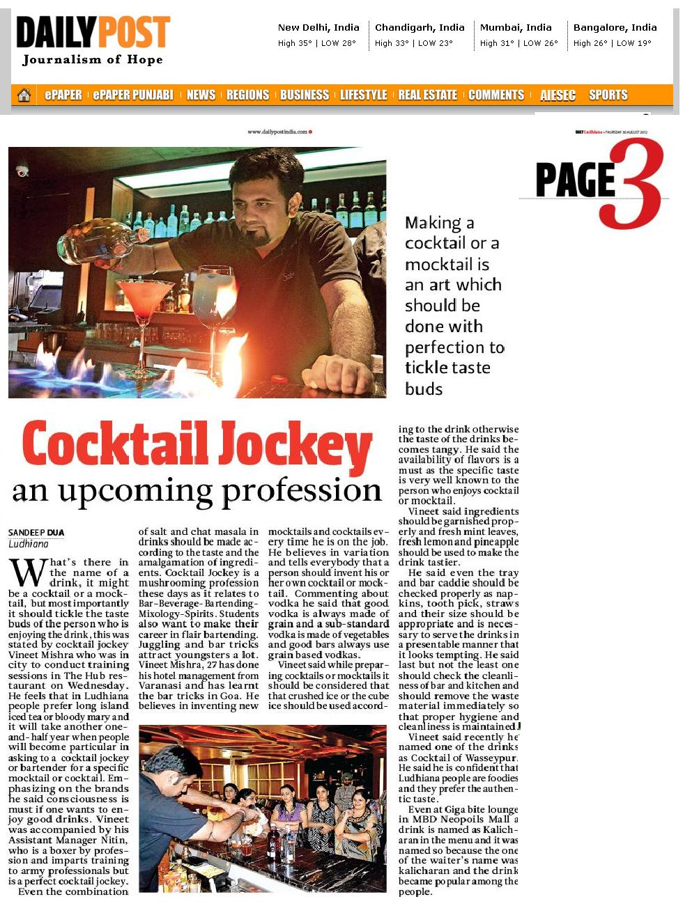 vineet mishra bartending india cocktailjockey cocktail jockey